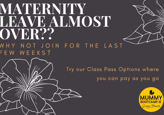 mummy bootcamp maternity leave
