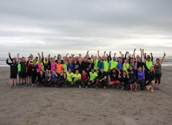 bootcamp ireland beach dollymount group pic