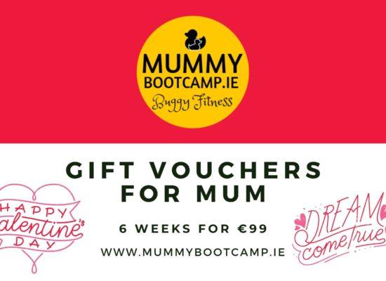 mummy bootcamp gift voucher